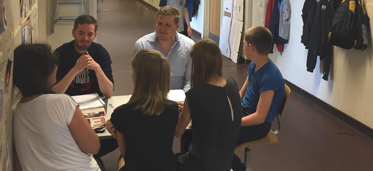BookBites test brugertest brugerinterview N. J. Fjordsgade Skole