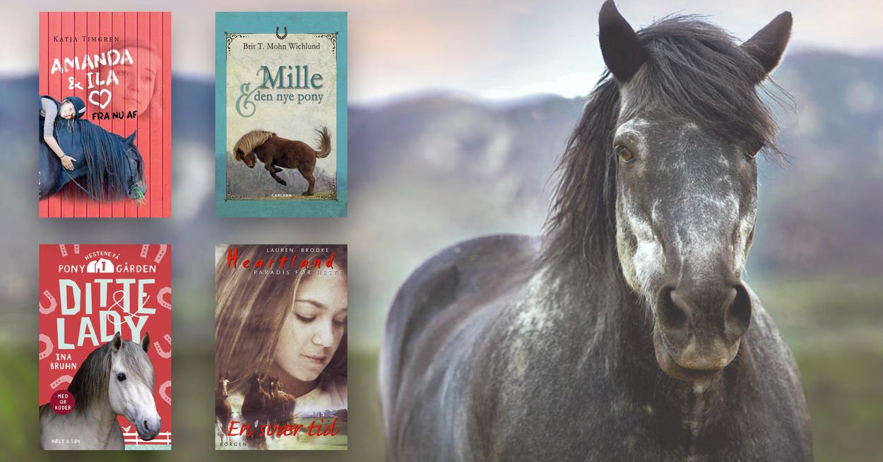 Bøger til hestetossen
